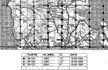 OS aerial photography flight diagram index