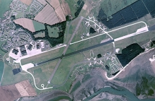Leuchars airfield