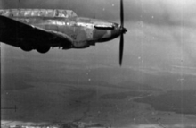 Fairey Battle aircraft over France