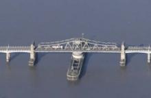 Aerial photography of bridges