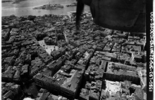 Venice, Italy, photographed from a USAAF F-5