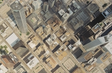 Aerial photograph of Houston, Texas