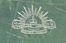 Australian Forces Fovant badge