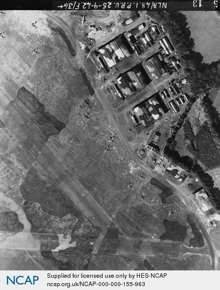 RAF Leuchars airfield control tower