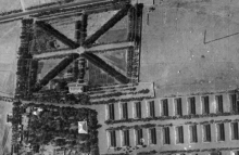 Aerial image of British barracks in Tehran